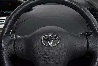 2007 Toyota Yaris NCP90R YR Black 5 Speed Manual Hatchback