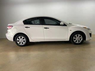 2011 Mazda 3 BL 10 Upgrade Neo White 5 Speed Automatic Sedan.