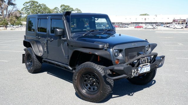 Used Jeep Wrangler JK Unlimited Sport Maddington, 2008 Jeep Wrangler JK Unlimited Sport Blue 4 Speed Automatic Softtop
