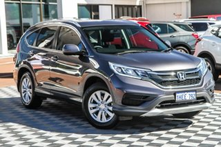 2015 Honda CR-V RM Series II MY16 VTi 4WD Grey 5 Speed Sports Automatic Wagon.