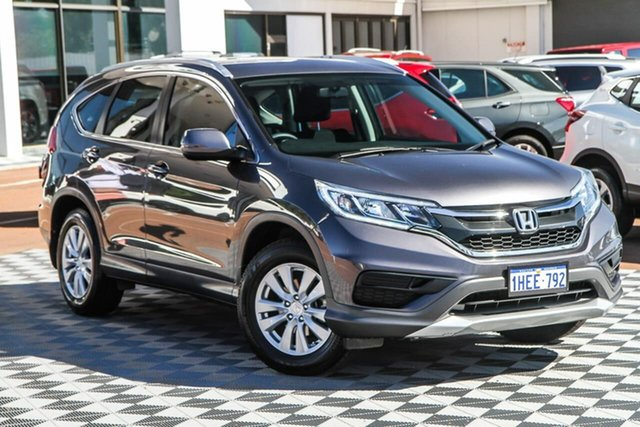 Used Honda CR-V RM Series II MY16 VTi 4WD Attadale, 2015 Honda CR-V RM Series II MY16 VTi 4WD Grey 5 Speed Sports Automatic Wagon