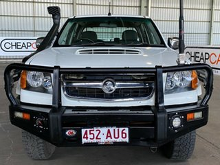 2010 Holden Colorado RC MY10 LT-R Crew Cab White 4 Speed Automatic Utility