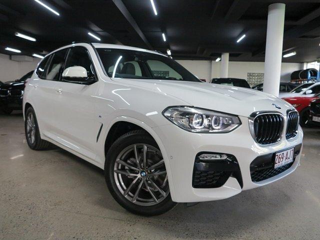 Used BMW X3 G01 sDrive20i Steptronic Albion, 2019 BMW X3 G01 sDrive20i Steptronic White 8 Speed Automatic Wagon