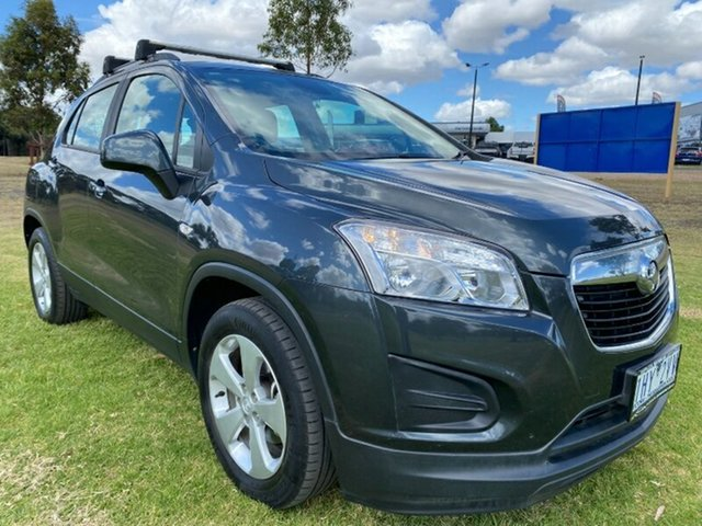 Used Holden Trax TJ MY16 Active Melton, 2016 Holden Trax TJ MY16 Active Grey 5 Speed Manual Wagon
