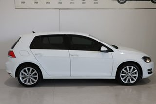 2016 Volkswagen Golf VII MY17 110TSI DSG Highline White 7 Speed Sports Automatic Dual Clutch.
