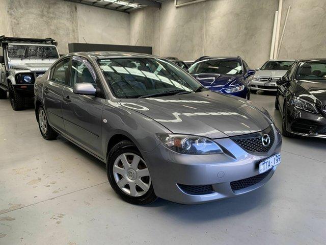 Used Mazda 3 BK10F1 Neo Coburg North, 2005 Mazda 3 BK10F1 Neo Silver 4 Speed Sports Automatic Sedan