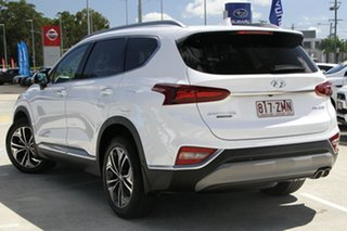 2019 Hyundai Santa Fe TM.2 MY20 Highlander White Cream 8 Speed Sports Automatic Wagon.