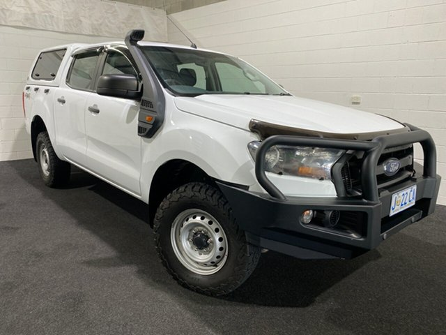 Used Ford Ranger PX MkII 2018.00MY XL Glenorchy, 2017 Ford Ranger PX MkII 2018.00MY XL White 6 Speed Sports Automatic Utility