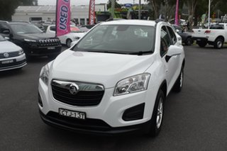 2014 Holden Trax TJ MY14 LS White 6 Speed Automatic Wagon