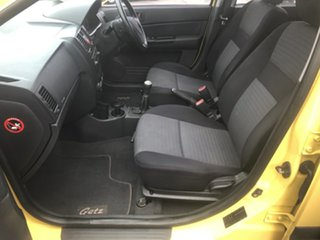 2007 Hyundai Getz TB Upgrade 1.6 Yellow 5 Speed Manual Hatchback