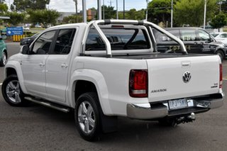 2019 Volkswagen Amarok 2H MY19 TDI550 4MOTION Perm Highline White 8 Speed Automatic Utility.