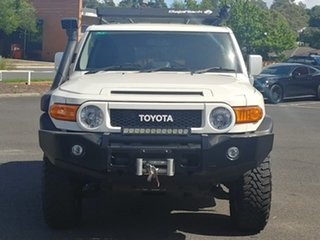 2013 Toyota FJ Cruiser GSJ15R French Vanilla 5 Speed Automatic Wagon.