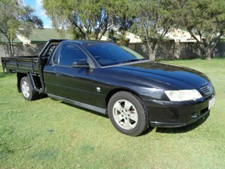 2003 Holden One Tonner VY Black 4 Speed Automatic Cab Chassis.