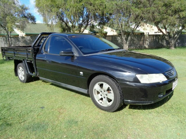Used Holden One Tonner VY Kippa-Ring, 2003 Holden One Tonner VY Black 4 Speed Automatic Cab Chassis