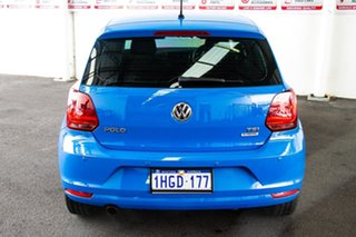 2015 Volkswagen Polo 6R MY15 81 TSI Comfortline 7 Speed Auto Direct Shift Hatchback