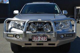 2012 Toyota Landcruiser Prado KDJ150R 11 Upgrade GXL (4x4) Silver 6 Speed Manual Wagon.