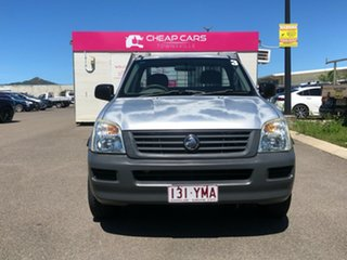 2005 Holden Rodeo RA MY05 DX 4x2 Silver 5 Speed Manual Cab Chassis