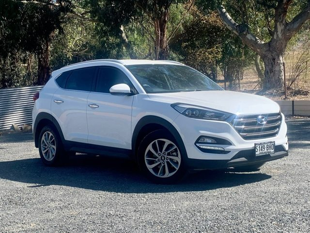 Used Hyundai Tucson TLE Elite AWD Clare, 2015 Hyundai Tucson TLE Elite AWD White 6 Speed Sports Automatic Wagon