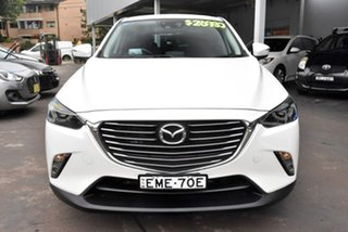 2016 Mazda CX-3 DK4WSA Akari SKYACTIV-Drive i-ACTIV AWD White 6 Speed Sports Automatic Wagon