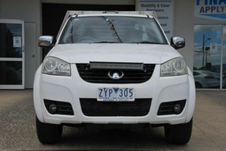 2012 Great Wall V240 K2 MY11 (4x2) White 5 Speed Manual Cab Chassis.