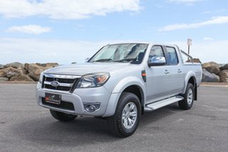 2010 Ford Ranger PK XLT Crew Cab Silver 5 Speed Automatic Utility