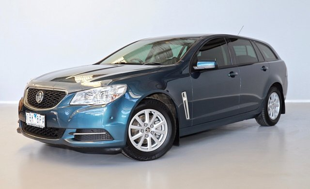 Used Holden Commodore VF MY14 Evoke Sportwagon Thomastown, 2014 Holden Commodore VF MY14 Evoke Sportwagon Blue 6 Speed Sports Automatic Wagon