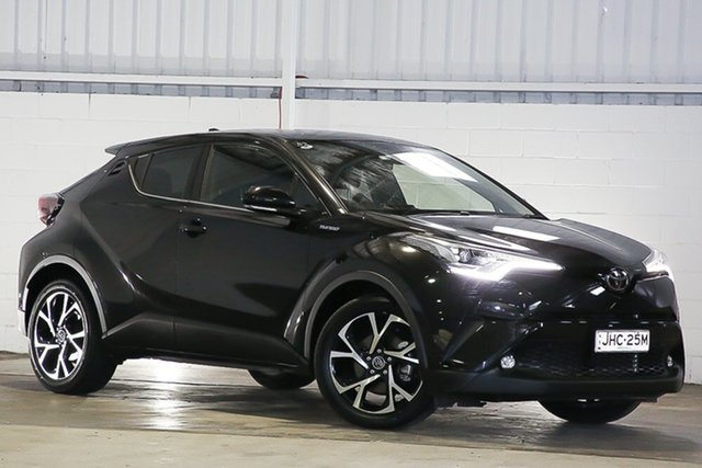 Used Toyota C-HR NGX50R Koba S-CVT AWD West Gosford, 2017 Toyota C-HR NGX50R Koba S-CVT AWD Black 7 Speed Constant Variable Wagon