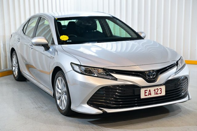 Used Toyota Camry AXVH71R Ascent Hendra, 2019 Toyota Camry AXVH71R Ascent Silver 6 Speed Constant Variable Sedan Hybrid