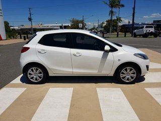 2013 Mazda 2 DE10Y2 MY13 Neo White 5 Speed Manual Hatchback.