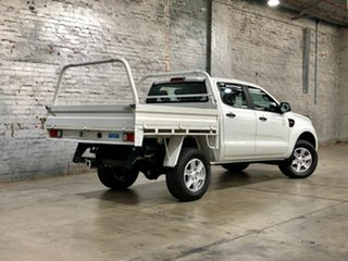 2015 Ford Ranger PX MkII XLS Double Cab White 6 Speed Manual Utility
