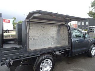 2013 Ford Ranger PX XL Grey 6 Speed Manual Cab Chassis