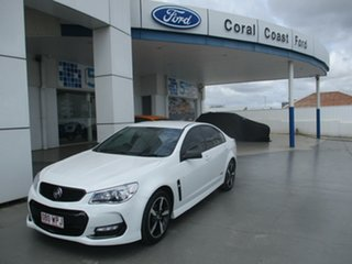 2016 Holden Commodore VF II SV6 White 6 Speed Automatic Sedan.