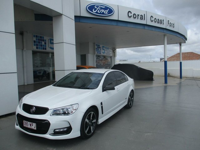 Used Holden Commodore VF II SV6 Bundaberg, 2016 Holden Commodore VF II SV6 White 6 Speed Automatic Sedan