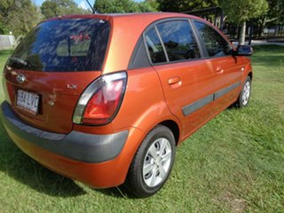 2009 Kia Rio JB MY07 EX Orange 4 Speed Automatic Hatchback