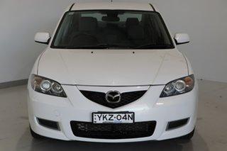 2007 Mazda 3 BK10F2 Neo White 4 Speed Sports Automatic Sedan.