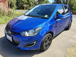 2014 Hyundai i20 PB Active Blue Automatic Hatchback.