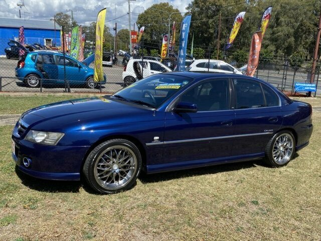 Used Holden Calais VZ Clontarf, 2004 Holden Calais VZ Blue 5 Speed Sports Automatic Sedan