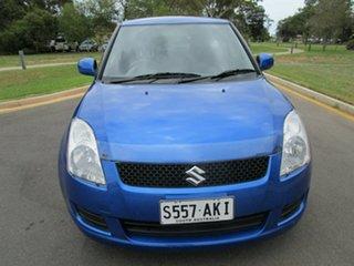 2011 Suzuki Swift Blue Auto Active Select Hatchback.