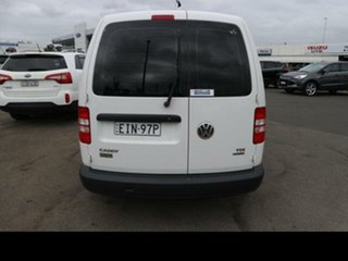 2014 Volkswagen Caddy 2K MY15 Maxi TDI250 White 7 Speed Auto Direct Shift Van