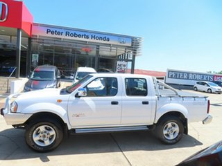 2012 Nissan Navara ST-R White 5 Speed Manual Dual Cab