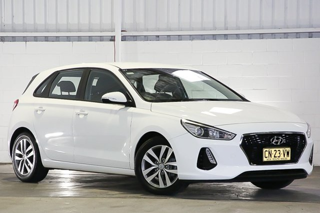 Used Hyundai i30 PD MY18 Active West Gosford, 2017 Hyundai i30 PD MY18 Active White 6 Speed Sports Automatic Hatchback