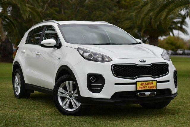 Used Kia Sportage QL MY17 Si AWD Cheltenham, 2017 Kia Sportage QL MY17 Si AWD White 6 Speed Sports Automatic Wagon