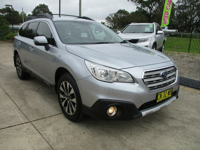 Used Subaru Outback B6A MY17 2.5i CVT AWD Glendale, 2017 Subaru Outback B6A MY17 2.5i CVT AWD Silver 6 Speed Constant Variable Wagon