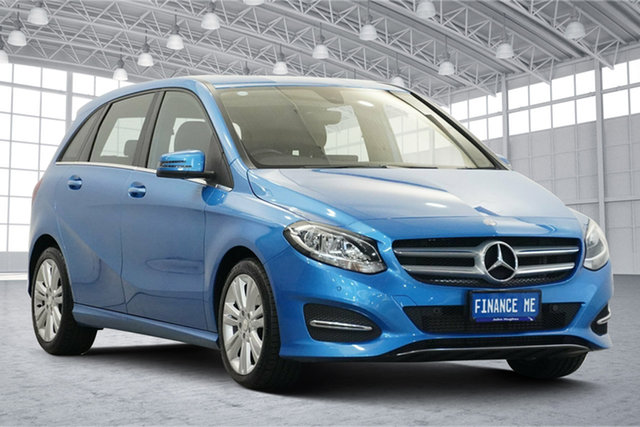 Used Mercedes-Benz B-Class W246 B180 DCT Victoria Park, 2015 Mercedes-Benz B-Class W246 B180 DCT Sued Lake Blue 7 Speed Sports Automatic Dual Clutch