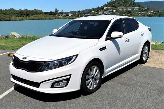 Used Kia Optima TF MY14 SI Proserpine, 2014 Kia Optima TF MY14 SI White 6 Speed Automatic Sedan