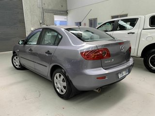 2005 Mazda 3 BK10F1 Neo Silver 4 Speed Sports Automatic Sedan.