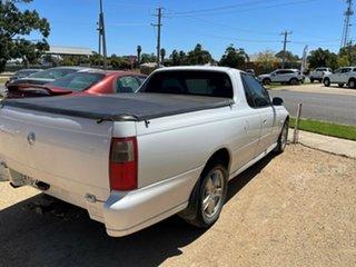 2001 Holden Ute VU White Utility.