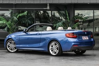 2016 BMW 2 Series F23 220i M Sport Blue 8 Speed Sports Automatic Convertible