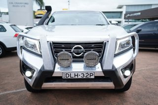 2015 Nissan Navara NP300 D23 ST (4x4) Silver 7 Speed Automatic Dual Cab Utility