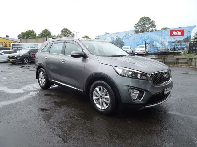 Used Kia Sorento UM MY17 SI Nowra, 2017 Kia Sorento UM MY17 SI Grey 6 Speed Sports Automatic Wagon